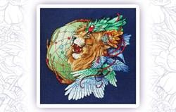 Набор для вышивания  Ловец снов-Лев 2 - фото 24600