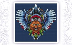 Набор для вышивания  Ловец снов. Лис 1 - фото 24601