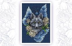 Набор для вышивания  Ловец снов. Волк - фото 24604