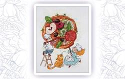 Набор для вышивания  Интересная пицца - фото 24609