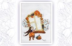 Набор для вышивания  У окошка - фото 24611