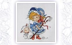 Набор для вышивания  Маленькая пастушка - фото 24616