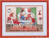 Набор для вышивания  Чаепитие - фото 24617