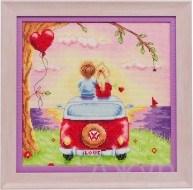 Набор для вышивания  Про любовь - фото 24618