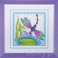 Набор для вышивания  Стрекоза. Закат - фото 24622