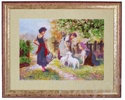 Набор для вышивания бисером  Счастливая весенняя пора - фото 24630