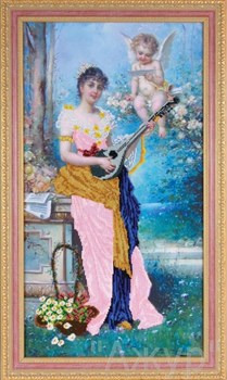Набор для вышивания бисером  Райская соната - фото 24632