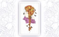 Набор для вышивания  Девушка Лето - фото 24697