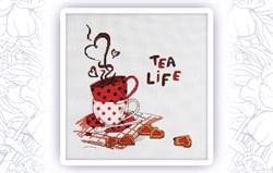 Набор для вышивания  Чай это жизнь - фото 24698