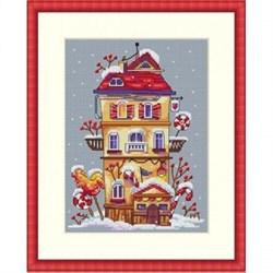 Набор для вышивания  Зимний домик - фото 25110