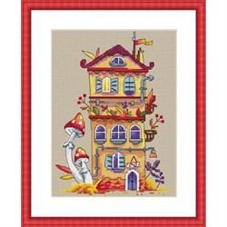 Набор для вышивания  Осенний домик - фото 25113