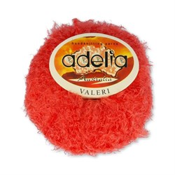 Пряжа Valeri 086 ярко-оранжевый - фото 25798