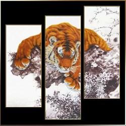 Набор для вышивания бисером  Взгляд хищника  (модуль) - фото 26033