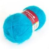 Пряжа  Ласка , цвет: голубая бирюза - фото 26116