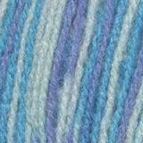 Пряжа  Подмосковная , цвета: белый, голубой, сиреневый - фото 26132