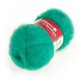 Пряжа  Ласка , цвет: зелёная бирюза - фото 26152