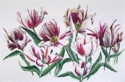 Набор для вышивания Gouverneur  Тюльпаны Рембрандта - фото 26878