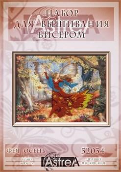 Набор для вышивания бисером  Фея Осень - фото 26911