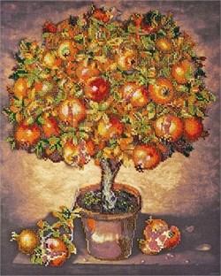 Набор для вышивания бисером  Гранатовое дерево - фото 26940