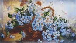 Набор для вышивания бисером  Корзина с ромашками - фото 26941