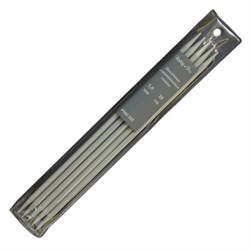 Cпицы Hobby&Pro носочные, алюминиевые с покрытием, d5,0 мм, 20 см - фото 28279