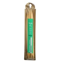 Cпицы Hobby&Pro носочные, бамбук, d8,0 мм, 20 см - фото 28354