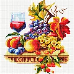 Картина стразами  Натюрморт с виноградом - фото 28360