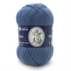 Пряжа Astra Premium Детская 90гр. 270м 35% шерсть меринос, 65% акрил джинса - фото 29577
