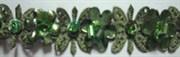 Лента декоративная зеленая Floranta Gloriosa