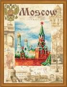 Набор для вышивания  Города мира. Москва