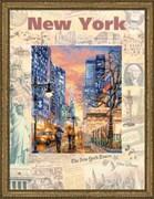 """Набор для вышивания  """"Города мира. Нью-Йорк"""""""