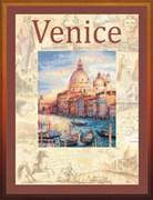 Набор для вышивания  Города мира. Венеция