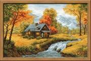 Набор для вышивания  Осенний пейзаж