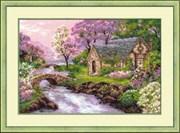 Набор для вышивания  Весенний пейзаж