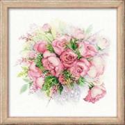 Набор для вышивания  Акварельные розы