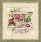 Набор для вышивания  Малиновый чай