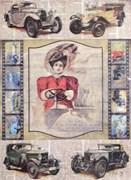 Рисовая бумага для декупажа  Автоледи
