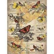 Рисовая бумага для декупажа  Открытка из Парижа