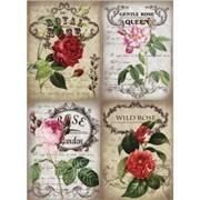 Рисовая бумага для декупажа  Королевские розы