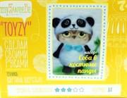 Набор Toyzy картина шерстью  Сова в костюме панды