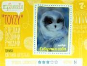 Набор Toyzy картина шерстью  Северная сова
