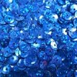 Пайетки круглые 6 мм цвет №М11 синий
