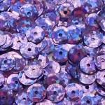 Пайетки круглые 6 мм цвет №50126 фиолетовый