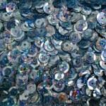 Пайетки круглые 6 мм цвет №50102 голубой