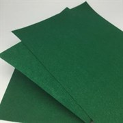 Фетр жёсткий, цвет: тёмно-зелёный (№ 053), 20 * 30 см, толщина 1 мм
