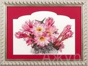 Набор для вышивания  Цветущий кактус