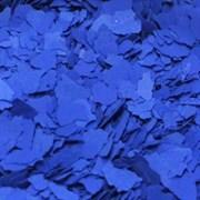 Хлопья для декорирования, Синий