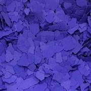 Хлопья для декорирования, Фиолетовый