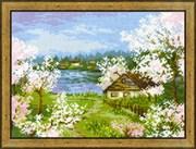 Набор для вышивания  Яблони в цвету