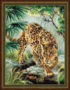 Набор для вышивания  Хозяин джунглей